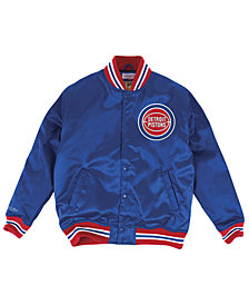 Mitchell & Ness Men's Detroit Pistons Satin Jacket