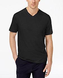 Tasso Elba Men's Supima Cotton Blend  V-Neck Short-Sleeve T-Shirt, Created for Macy's