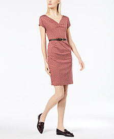 Weekend Max Mara Enza Cotton Printed Dress