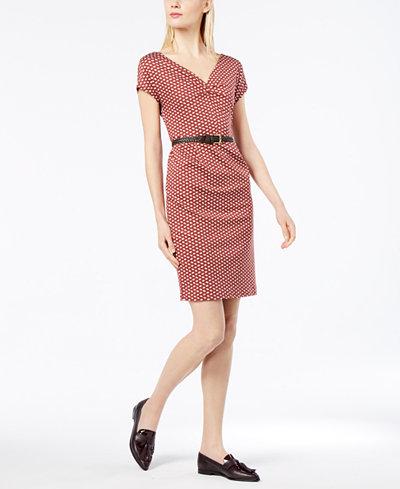 Weekend Max Mara Enza Cotton Printed Dress