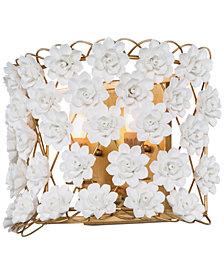 Regina Andrew Design Alice Porcelian Flower Sconce
