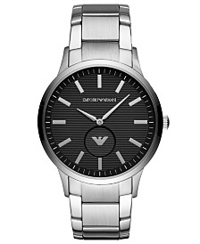 Emporio Armani Men's Stainless Steel Bracelet Watch 43mm