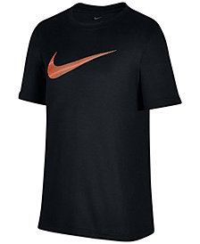 Nike Dri-FIT Legend Graphic-Print T-Shirt, Big Boys