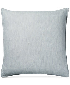 CLOSEOUT! Hotel Collection 525-Thread Count Yarn Dyed European Sham, Created for Macy's