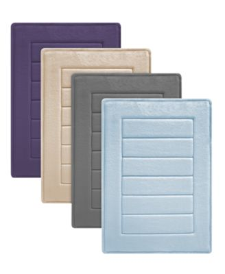 Soft Tex SensoSoft™ Ultra Plush Memory Foam Bath Rugs