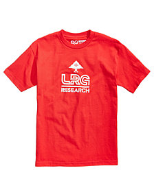 LRG Men's Research 47 Logo-Print T-Shirt