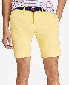 "Polo Ralph Lauren Men's Stretch Slim-Fit Chino 9-1/2"" Shorts"