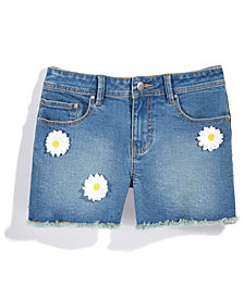 Nowadays x Bailee Madison Daisy Denim Shorts, Big Girls & Juniors