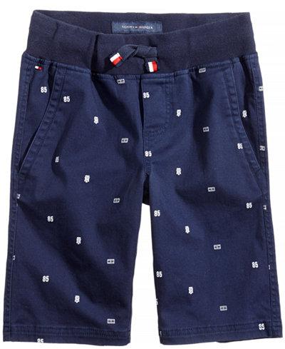 Tommy Hilfiger Printed Pull-On Shorts, Big Boys