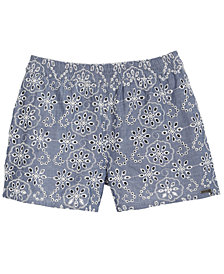 GUESS San Gallo Cotton Shorts, Big Girls