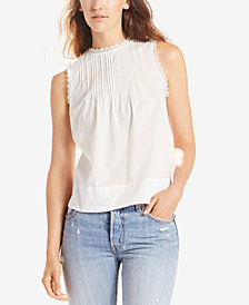 Levi's® Janis Cotton Pleated Top