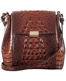 Brahmin Melbourne Margo Embossed Leather Crossbody