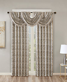 SunSmart Cassius Marble Jacquard Total Blackout Window Treatment Collection