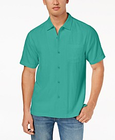 Men's Weekend Tropics Silk Shirt, Created for Macy's