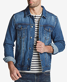 Weatherproof Vintage Men's Denim Jacket, Created for Macy's