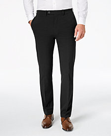 Calvin Klein Men's Slim-Fit Stretch Tech Dress Pants