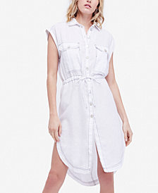 Free People Meet Me Halfway Tunic Shirt
