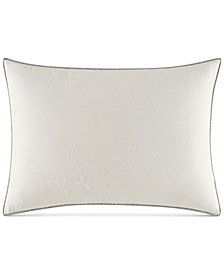 "Nautica Ripple 14"" x 20"" Starfish Embroidery Decorative Pillow"