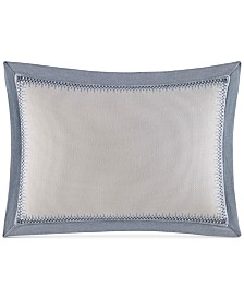 "Nautica Abbot 14"" x 20"" Border Decorative Pillow"
