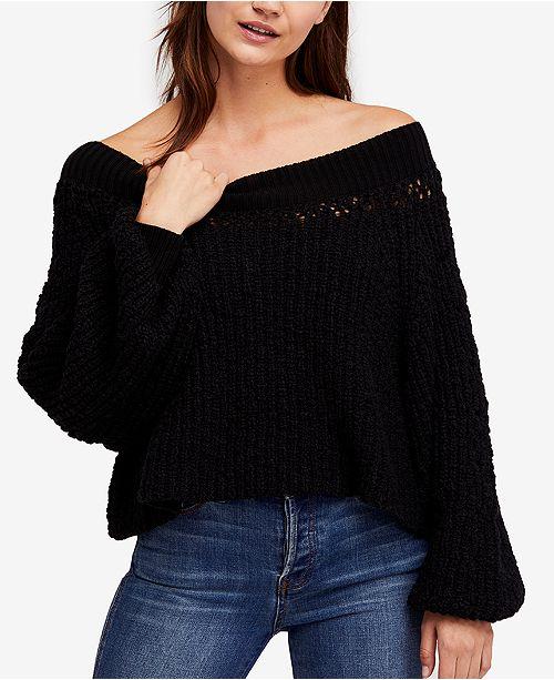 7cfd436497707 Free People Pandora Boat-Neck Sweater   Reviews - Sweaters - Women ...