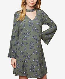 Motherhood Maternity Cutout Floral-Print Dress