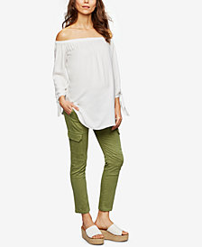 Isabella Oliver Maternity Skinny Cargo Pants