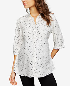 Isabella Oliver Maternity Printed Blouse