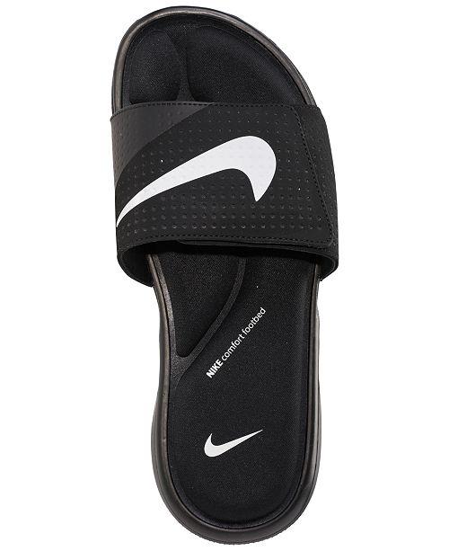 7e2bbdef4 Nike Men s Ultra Comfort Slide Sandals from Finish Line   Reviews ...