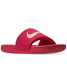 Nike Big Girls' Kawa Slide Sandals from Finish Line