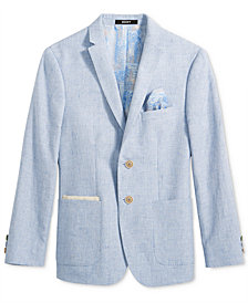 DKNY Chambray Sport Coat, Big Boys