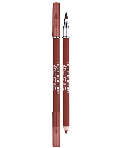 Lancome Le Lipstique Dual Ended Lip Pencil with Brush, 0.04 oz
