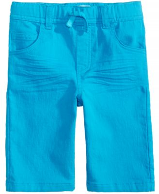 Colored Denim Shorts, Little Boys, Created for Macy's