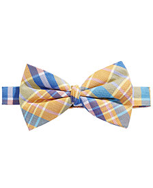 Lauren Ralph Lauren Plaid Bow Tie, Big Boys