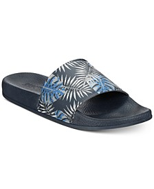 Men's Palm-Print Slide Sandals
