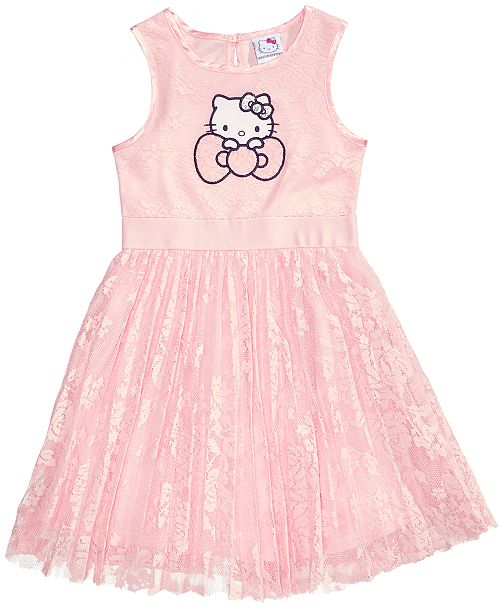 3a1cd3684 Hello Kitty Lace Dress, Toddler Girls & Reviews - Dresses - Kids ...