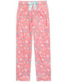 Max & Olivia Graphic-Print Pajama Pants, Little Girls & Big Girls