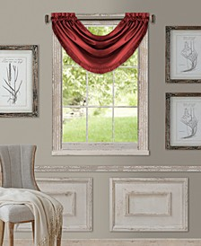 "Versailles 52"" x 36"" Room Darkening Window Valance"