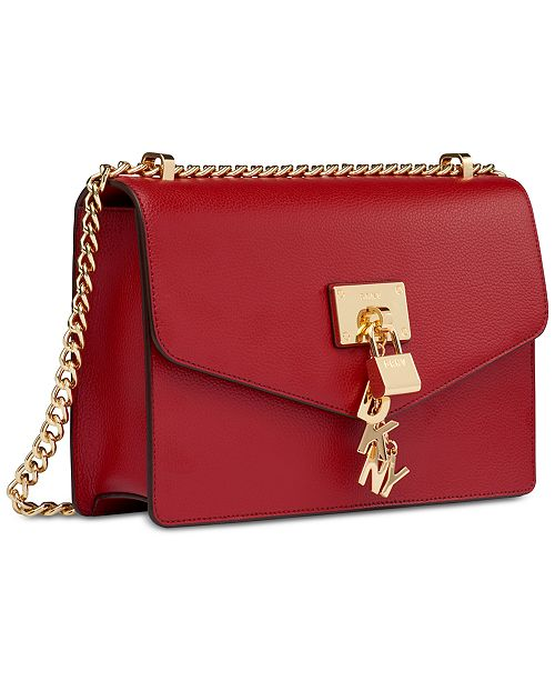 Leather Chain Strap Shoulder Bag