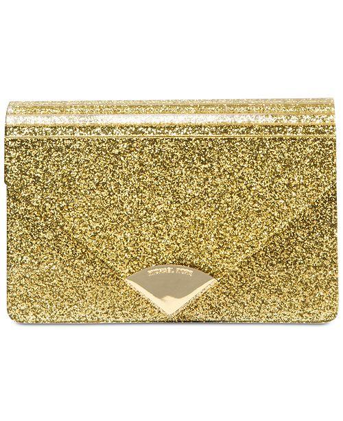 457b4d085297 Michael Kors Barbara Medium Envelope Clutch   Reviews - Handbags ...