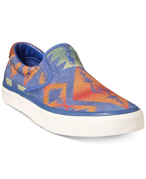 Polo Ralph Lauren Thompson (Blue Multi) Mens Shoes Pictures Sale Online bVo5sZ