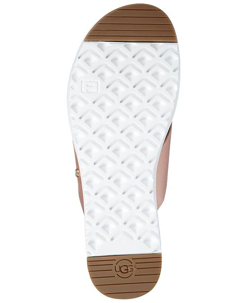 6ca9cb18e263 UGG® Women s Kari Slide Flat Sandals   Reviews - Sandals   Flip ...