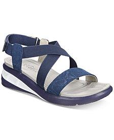 JSPORT By Jambu Sunny Wedge Sandals