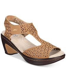 JBU by Jambu Women's Chloe Wedge Sandals