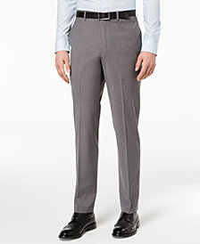 CLOSEOUT! DKNY Men's Slim-Fit Stretch Neat Suit Pants