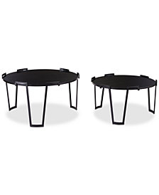 Sherwan Coffee Table (Set Of 2), Quick Ship