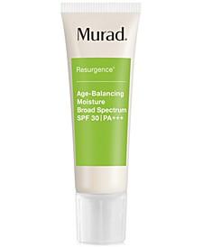 Resurgence Age-Balancing Moisture Broad Spectrum SPF 30 | PA+++, 1.7-oz.