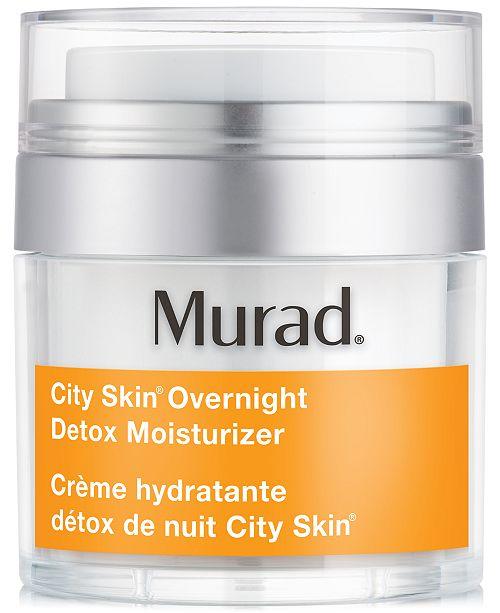 Murad City Skin Overnight Detox Moisturizer, 1.7 fl. oz.
