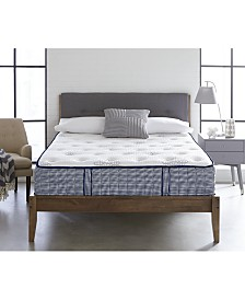 "Chic Couture Memory Foam and Wrapped Coil Hybrid 12"" Firm Mattress, Quick Ship, Mattress in a Box- King"