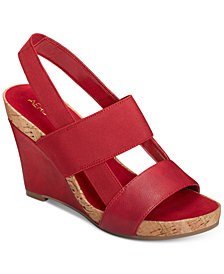 Aerosoles Magnolia Plush Wedge Sandals