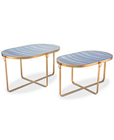 Zaphire End Table (Set Of 2), Quick Ship